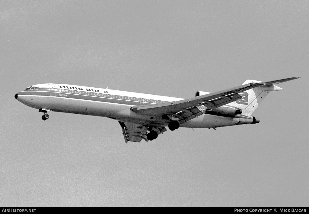 Aircraft Photo of TS-JHR | Boeing 727-2H3/Adv | Tunis Air | AirHistory.net #4694