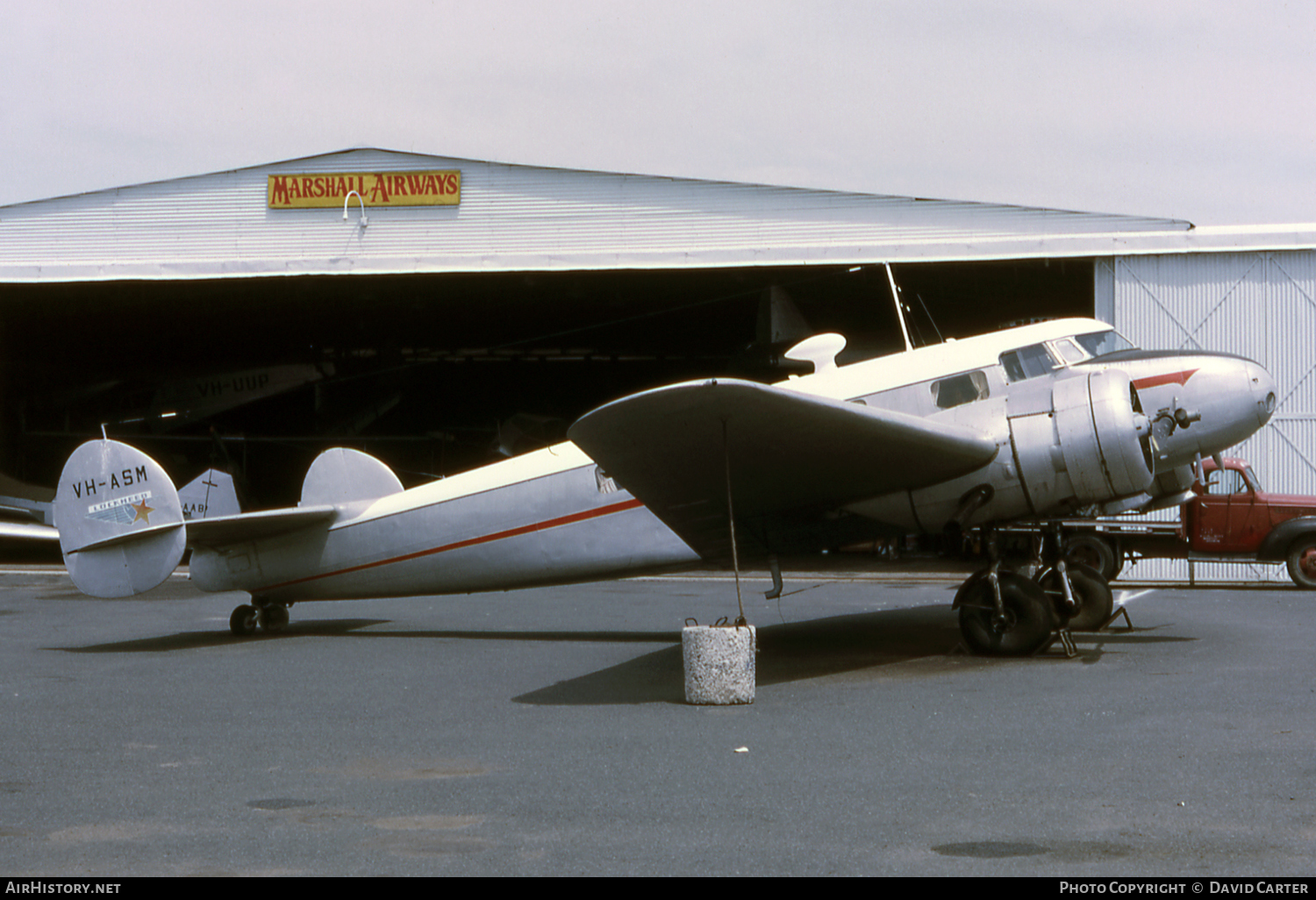 Aircraft Photo of VH-ASM | Lockheed 10-B Electra | Marshall Airways | AirHistory.net
