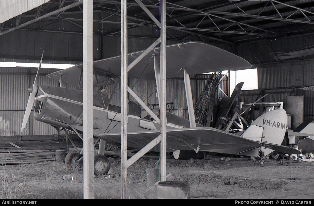 Aircraft Photo of VH-ARM | De Havilland D.H. 82A Tiger Moth | AirHistory.net #4766