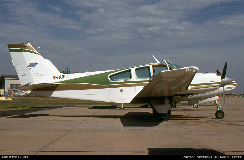 Aircraft Photo of VH-ARL | Beech B55 Baron (95-B55) | AirHistory.net