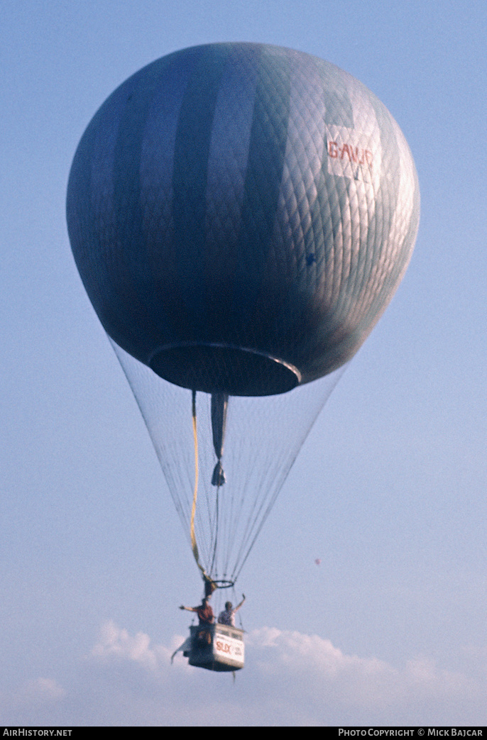 Aircraft Photo of G-AVJR | Abingdon Free Gas Balloon | AirHistory.net #4794