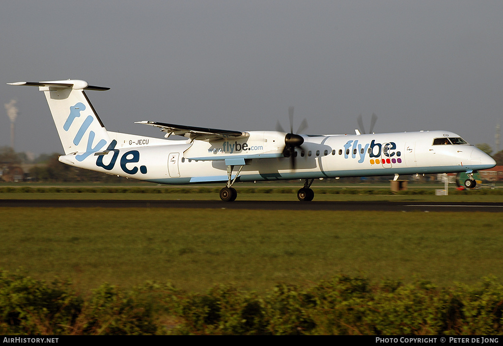 Aircraft Photo of G-JECU | Bombardier DHC-8-402 | Flybe | AirHistory.net #4893