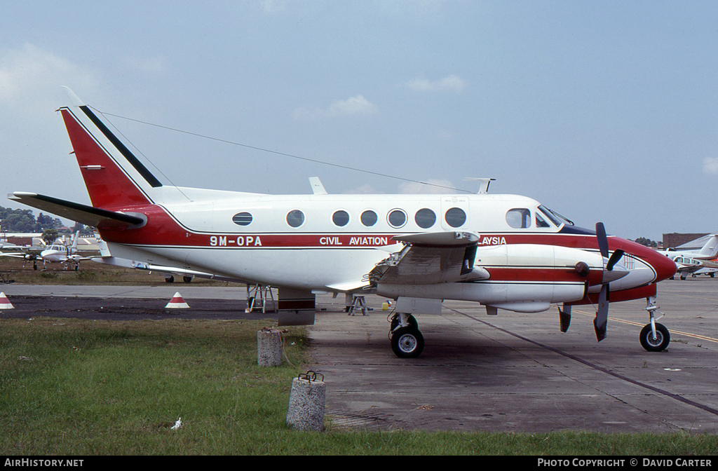 Aircraft Photo of 9M-OPA | Beech 100 King Air | Department of Civil Aviation | AirHistory.net