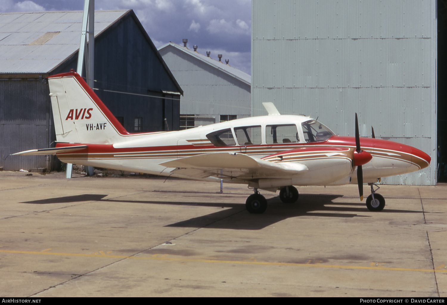 Aircraft Photo of VH-AVF | Piper PA-23-250 Aztec | Avis Air Charter | AirHistory.net #4967