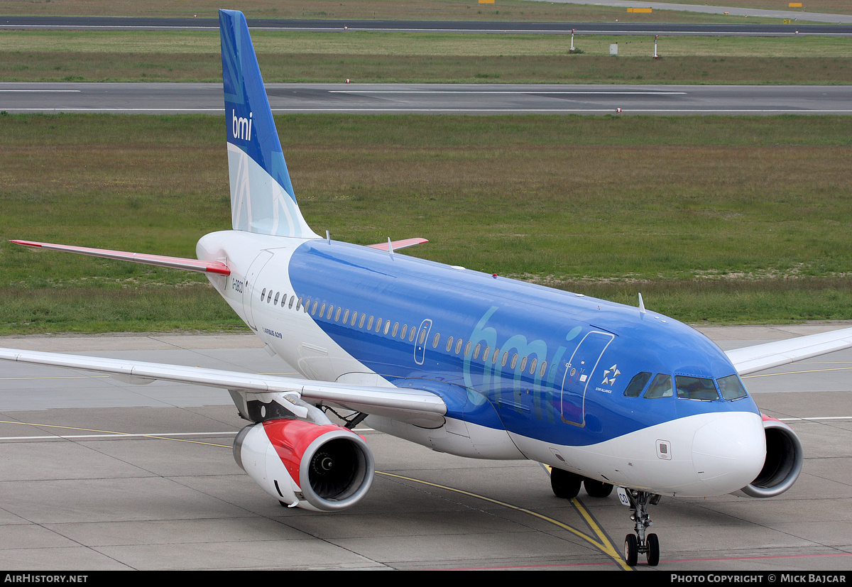 Aircraft Photo of G-DBCD | Airbus A319-131 | BMI - British Midland International | AirHistory.net
