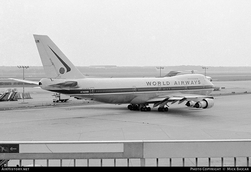 Aircraft Photo of N748WA | Boeing 747-273C | World Airways | AirHistory.net #5161
