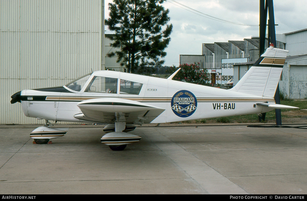 Aircraft Photo of VH-BAU | Piper PA-28-140 Cherokee C | Brabham Aviation | AirHistory.net #5210