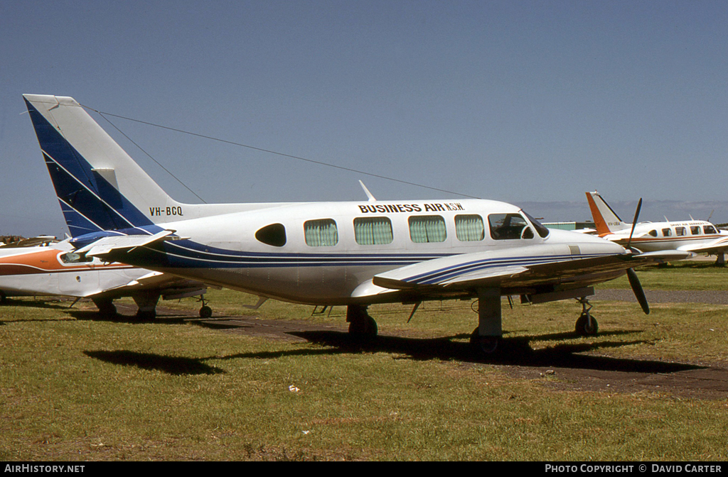 Aircraft Photo of VH-BCQ | Piper PA-31-350 Chieftain | Business Air NSW | AirHistory.net #5351