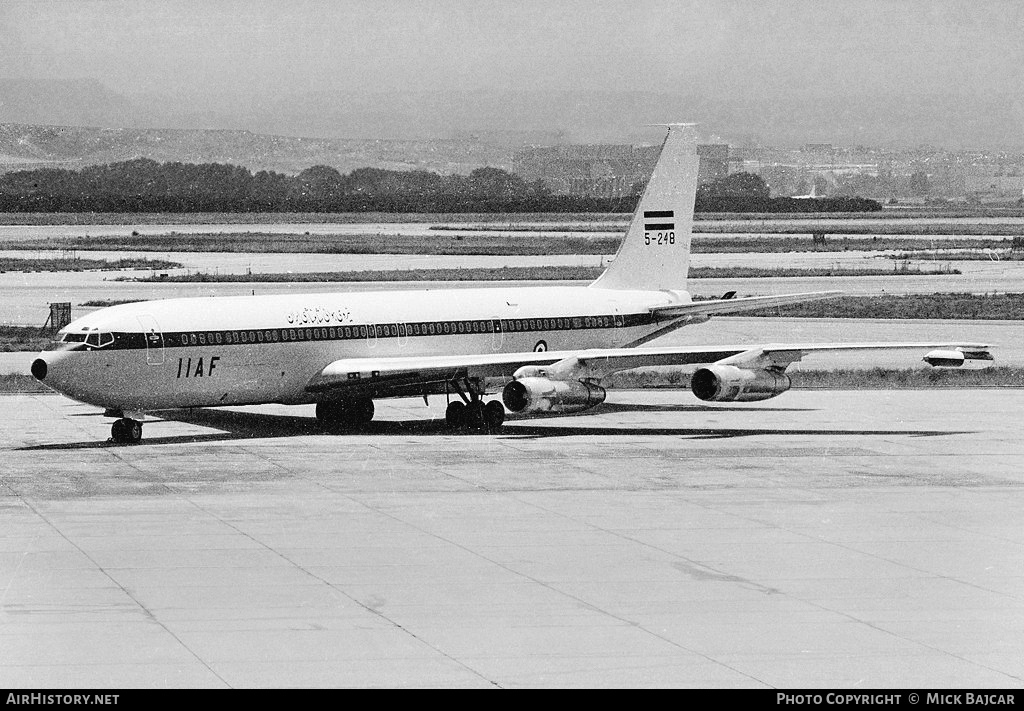 Aircraft Photo of 5-248 | Boeing 707-3J9C | Iran - Air Force | AirHistory.net #5386