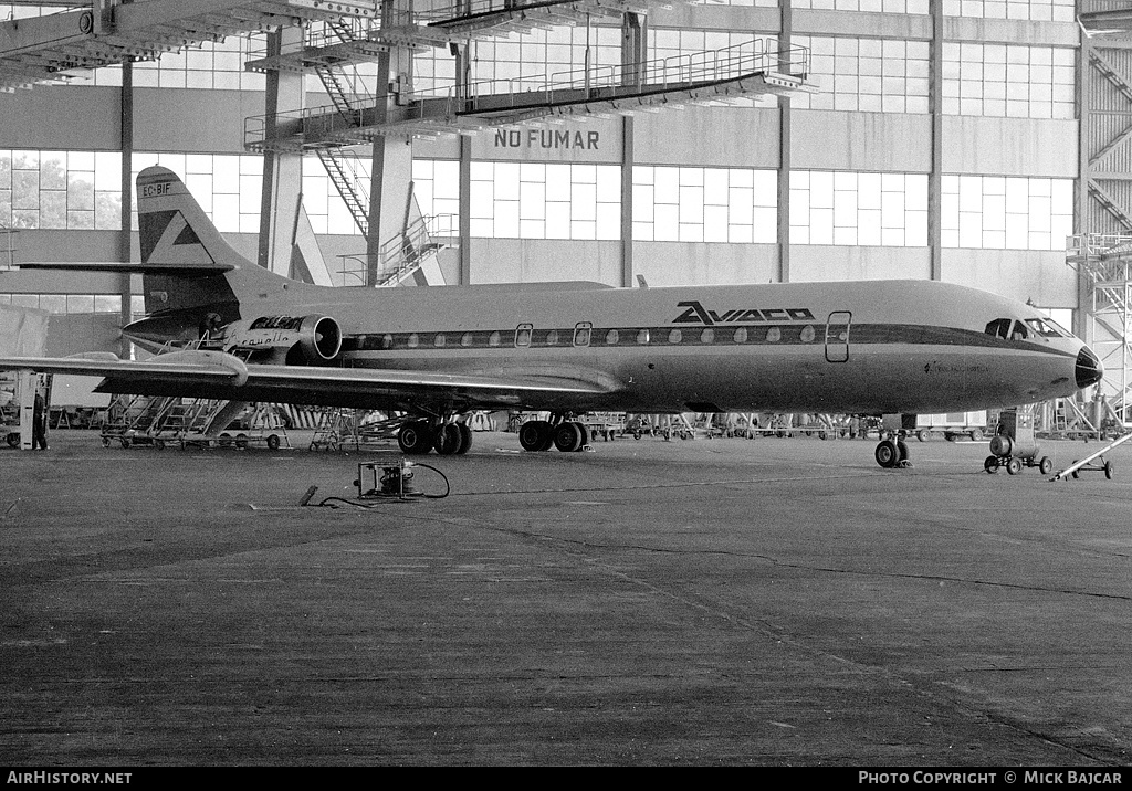 Aircraft Photo of EC-BIF | Sud SE-210 Caravelle 10B1R | Aviaco | AirHistory.net #5391