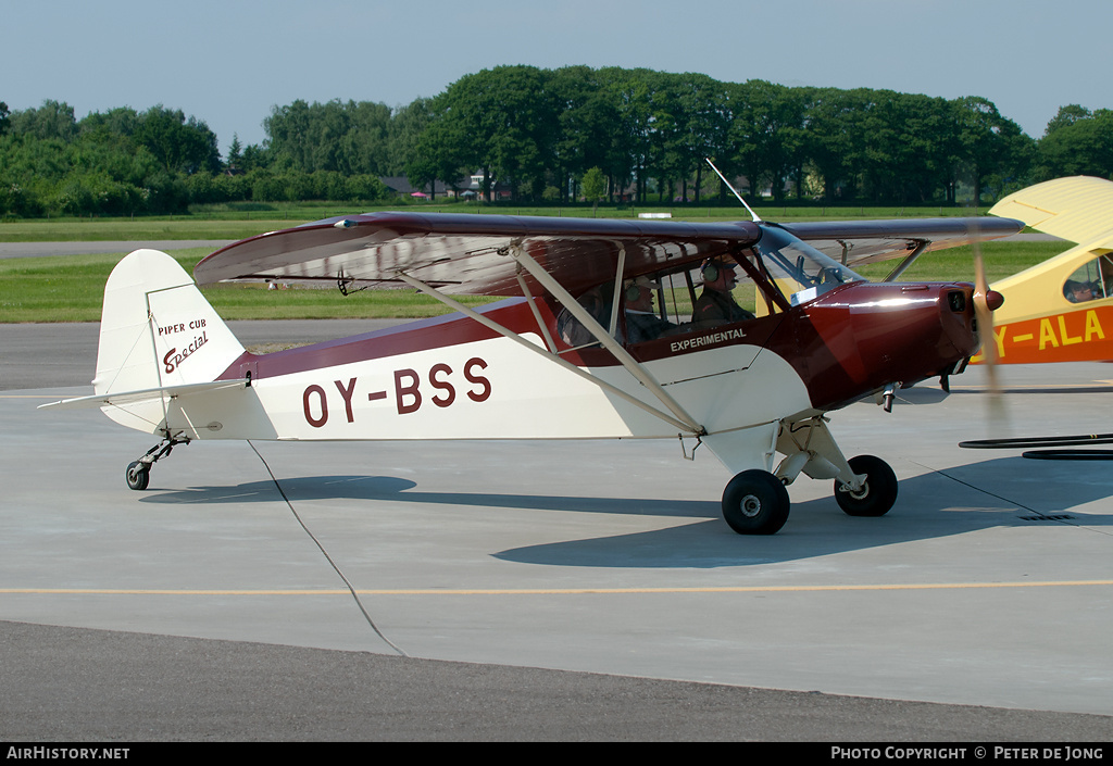 Aircraft Photo of OY-BSS | Piper PA-11 Cub Special | AirHistory.net #5413