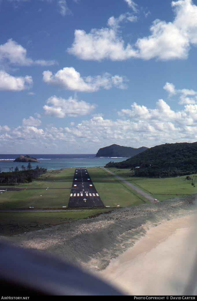 Airport photo of Lord Howe Island (YLHI / LDH) in New South Wales, Australia | AirHistory.net #5429