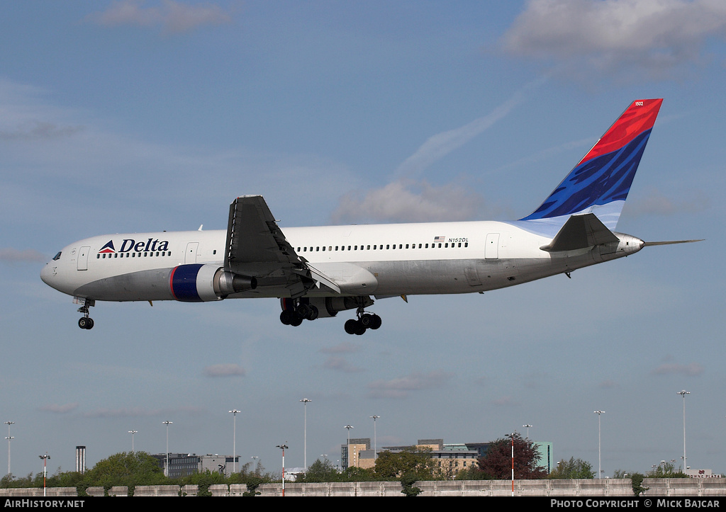 Aircraft Photo of N152DL | Boeing 767-3P6/ER | Delta Air Lines | AirHistory.net #5529