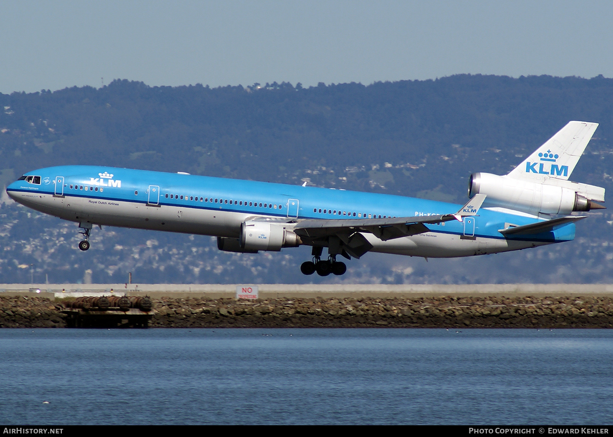 Aircraft Photo of PH-KCD | McDonnell Douglas MD-11 | KLM - Royal Dutch Airlines | AirHistory.net #5690