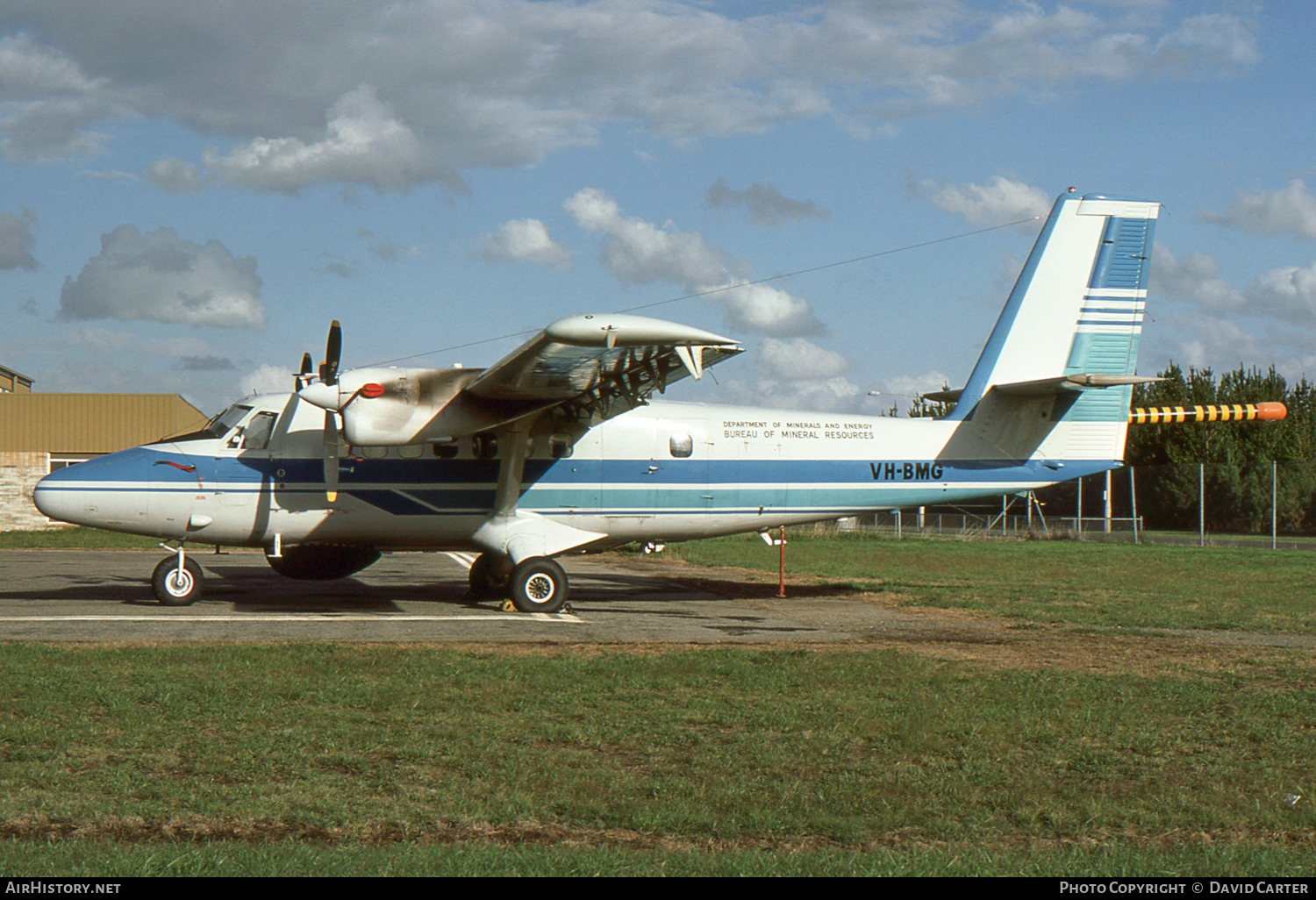 Aircraft Photo of VH-BMG | De Havilland Canada DHC-6-200 Twin Otter | Bureau of Mineral Resources | AirHistory.net #5747