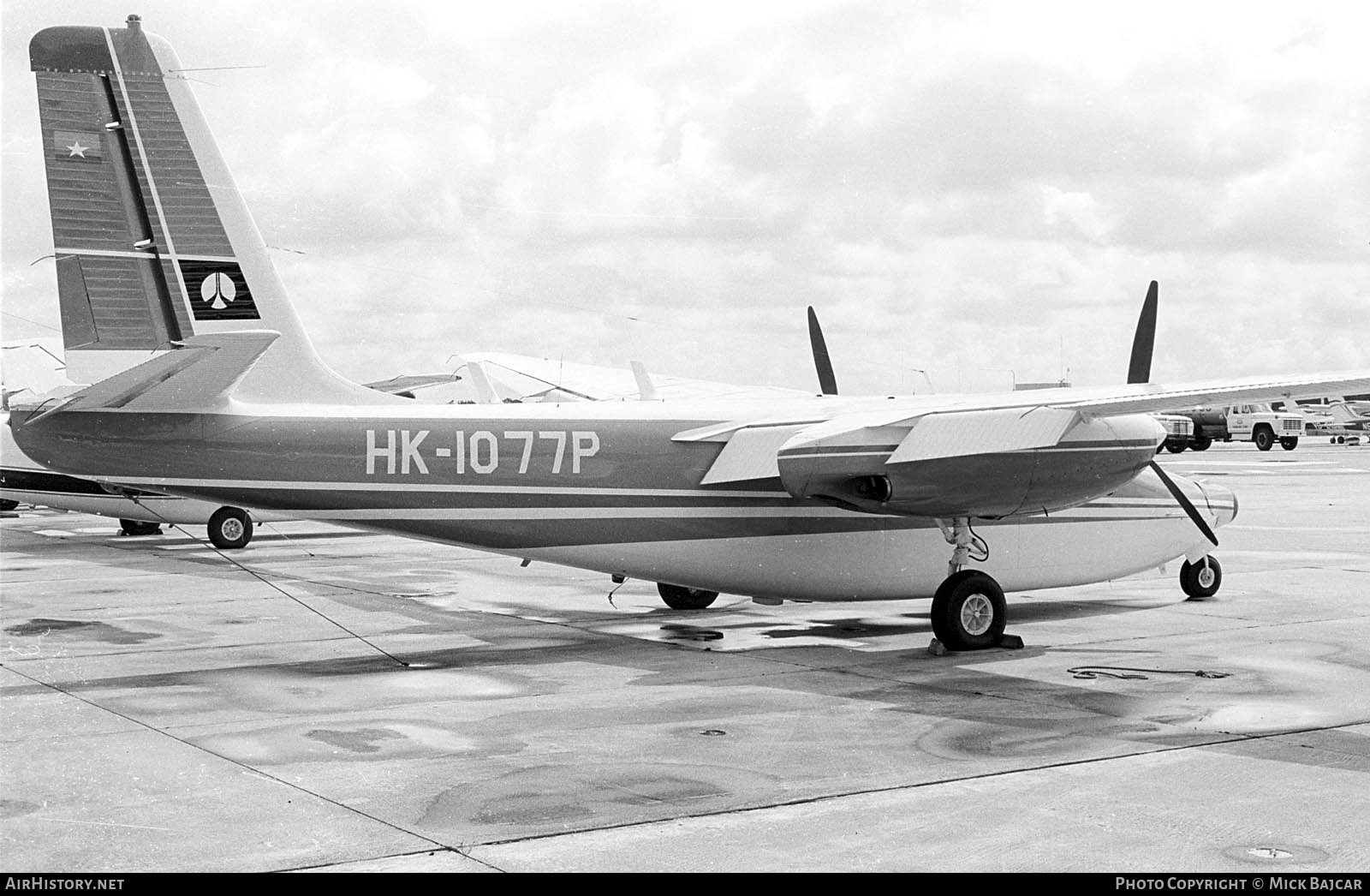 Aircraft Photo of HK-1077P | Aero 560A Commander | AirHistory.net