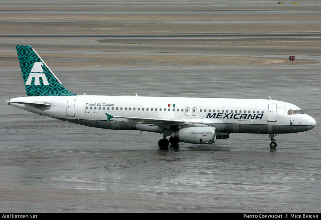 Aircraft Photo of F-OHMF | Airbus A320-231 | Mexicana | AirHistory.net