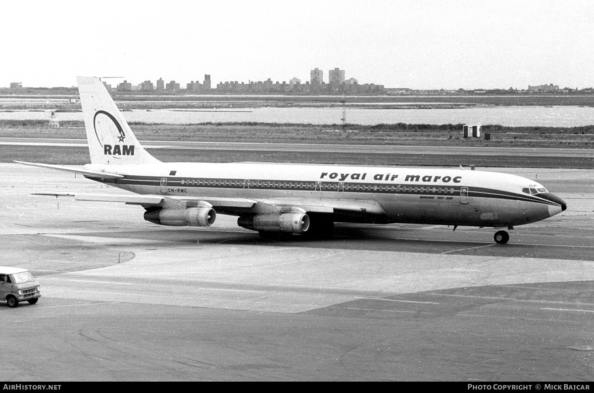 Aircraft Photo of CN-RMC | Boeing 707-351C | Royal Air Maroc - RAM | AirHistory.net #5828