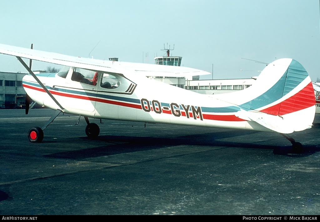 Aircraft Photo of OO-GYM | Cessna 170B | AirHistory.net