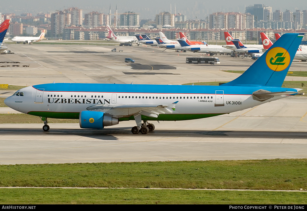 Aircraft Photo of UK-31001 | Airbus A310-324 | Uzbekistan Airways | AirHistory.net #5996