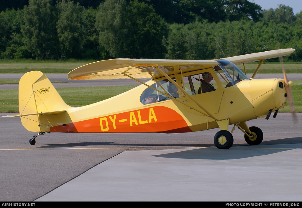 Aircraft Photo of OY-ALA | Aeronca 7AC Champion | AirHistory.net