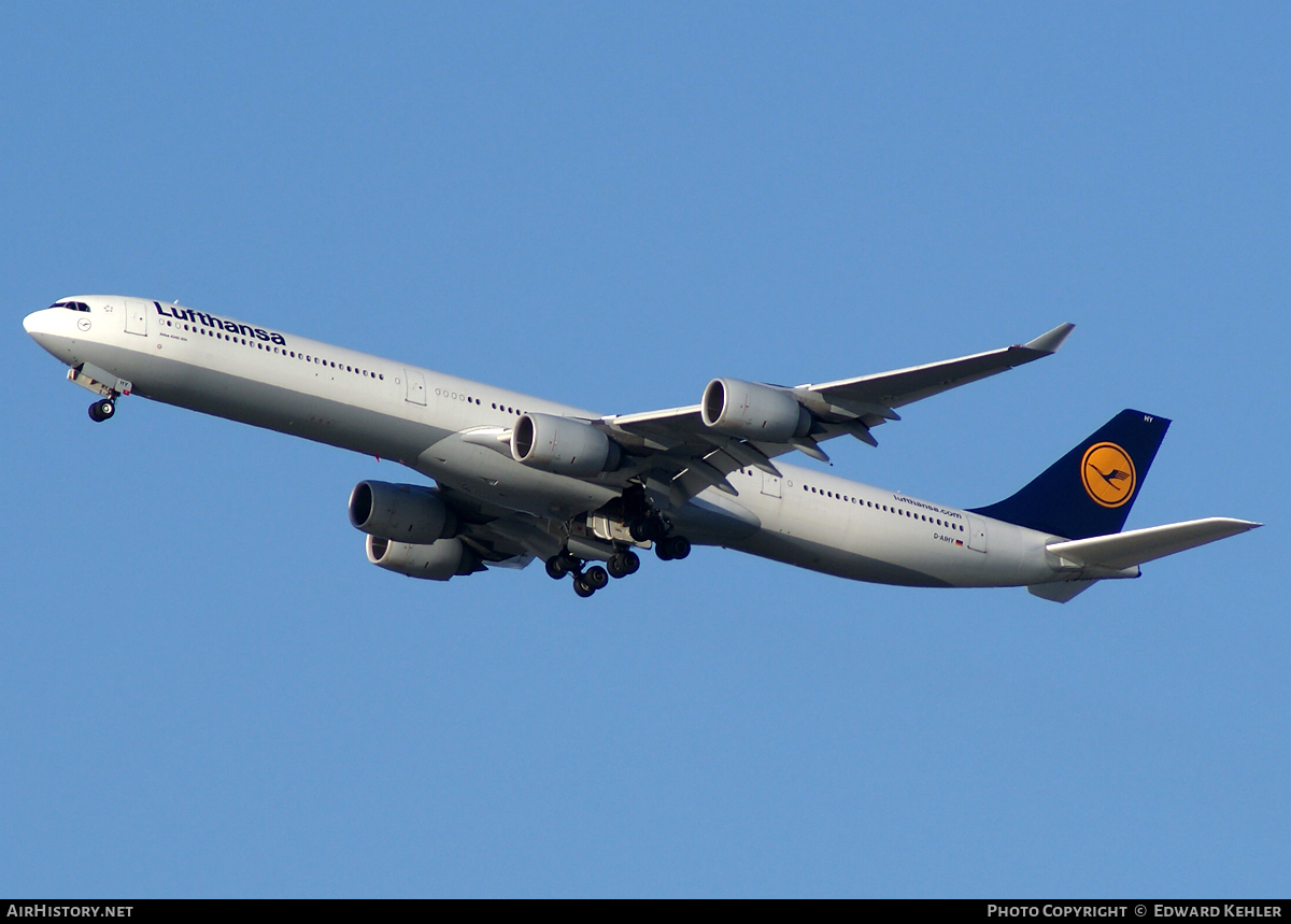 Aircraft Photo of D-AIHY | Airbus A340-642 | Lufthansa | AirHistory.net #6039