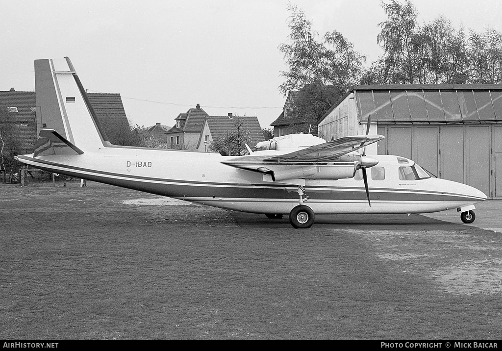 Aircraft Photo of D-IBAG | Rockwell 690A Turbo Commander | AirHistory.net #6136