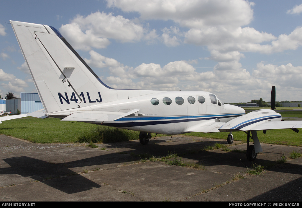 Aircraft Photo of N41LJ | Cessna 421C Golden Eagle | AirHistory.net