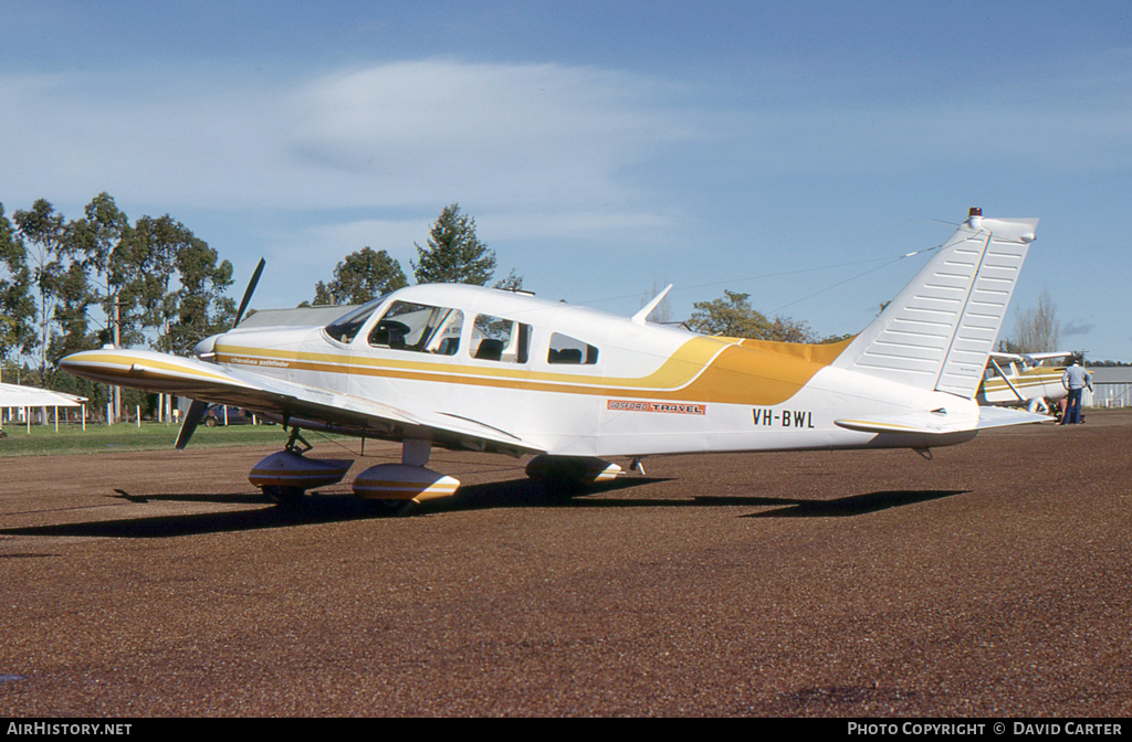 Aircraft Photo of VH-BWL | Piper PA-28-235 Cherokee Pathfinder | Gosford Travel | AirHistory.net #6177
