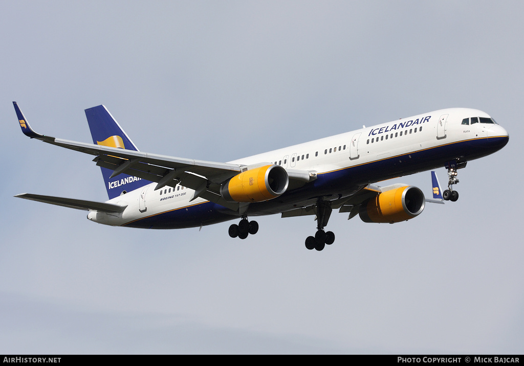 Aircraft Photo of TF-FIV | Boeing 757-208 | Icelandair | AirHistory.net
