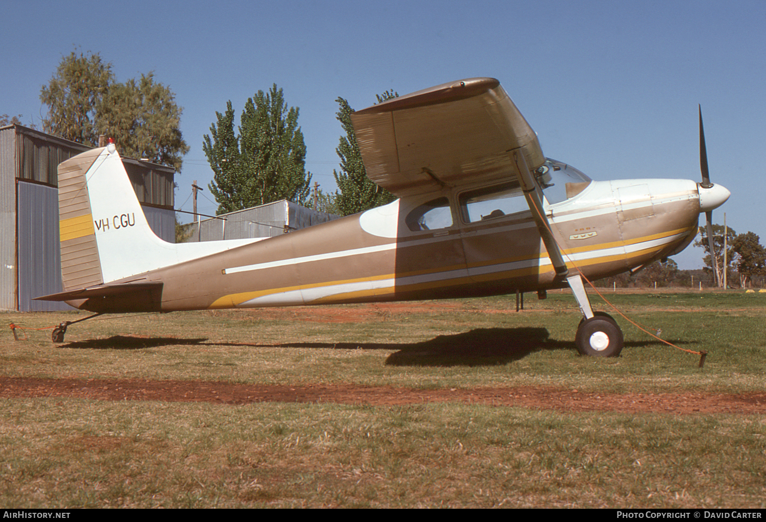 Aircraft Photo of VH-CGU | Cessna 180A | AirHistory.net #6449