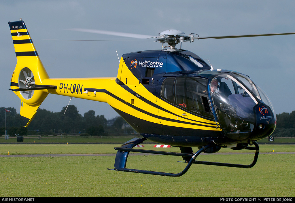 Aircraft Photo of PH-UNN | Eurocopter EC-120B Colibri | HeliCentre | AirHistory.net #6502
