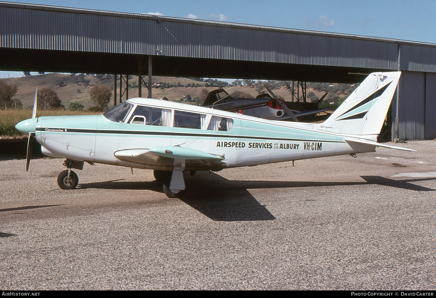 Aircraft Photo of VH-CIM | Piper PA-24-260 Comanche B | Airspeed Services Albury | AirHistory.net #6512