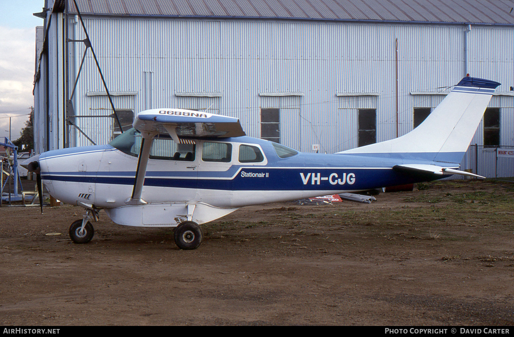 Aircraft Photo of VH-CJG | Cessna U206F Stationair II | AirHistory.net #6519