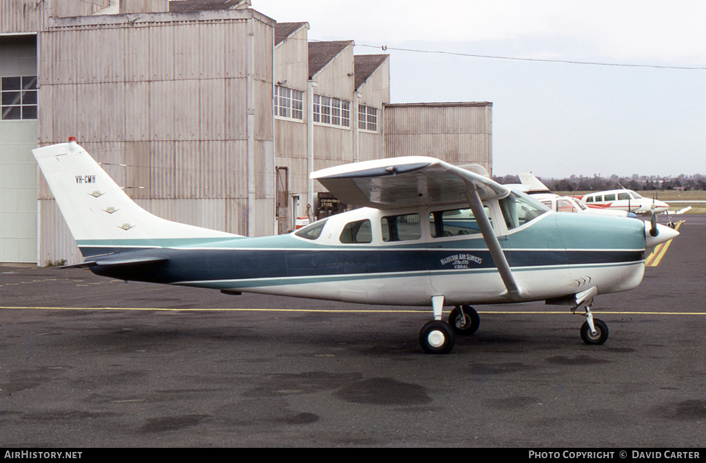 Aircraft Photo of VH-CMH | Cessna 210B | Hazelton Air Services - HAS | AirHistory.net