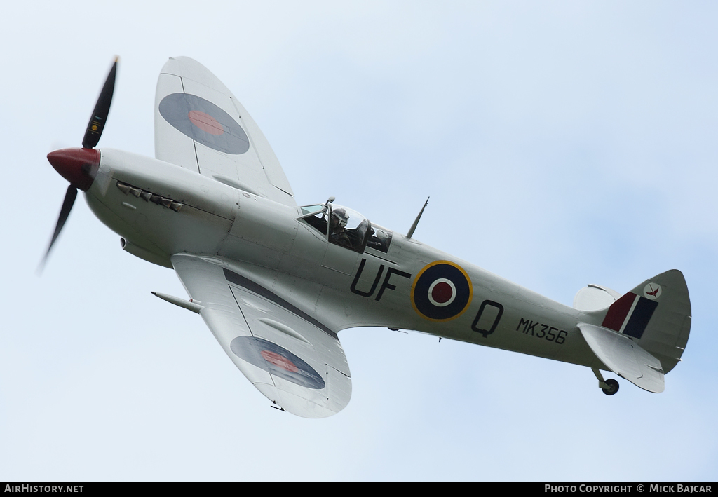 Aircraft Photo of MK356 | Supermarine 361 Spitfire F9E | UK - Air Force | AirHistory.net #6598