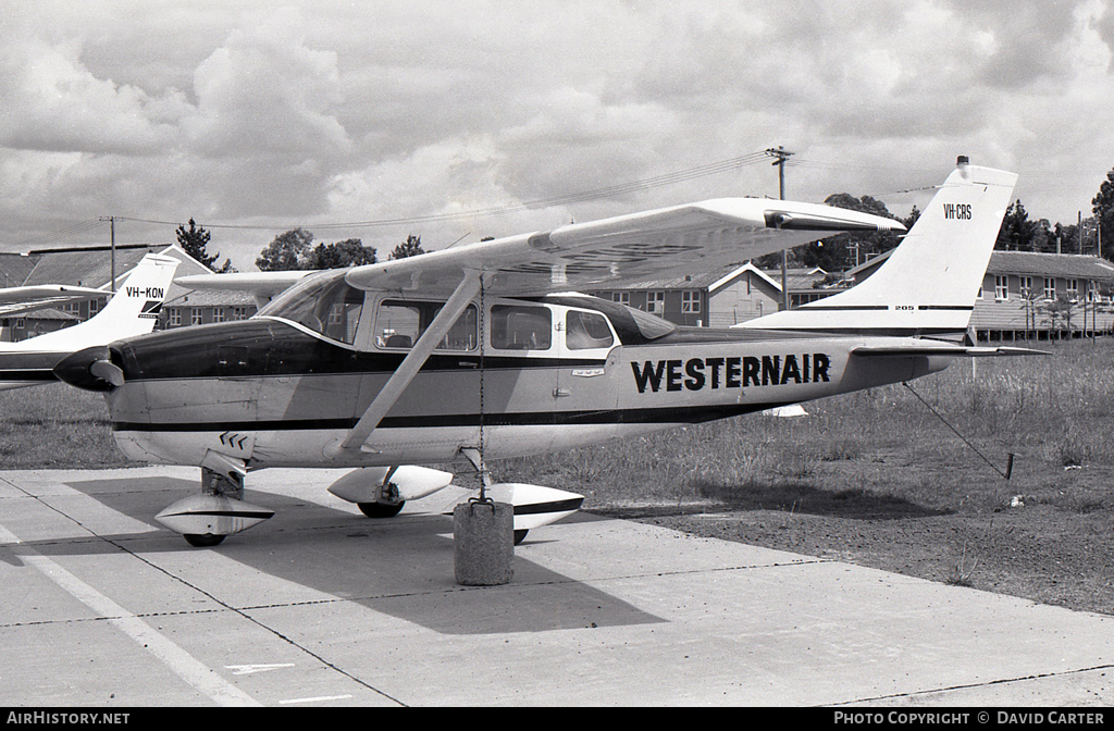 Aircraft Photo of VH-CRS | Cessna 210-5 | Westernair | AirHistory.net #6673