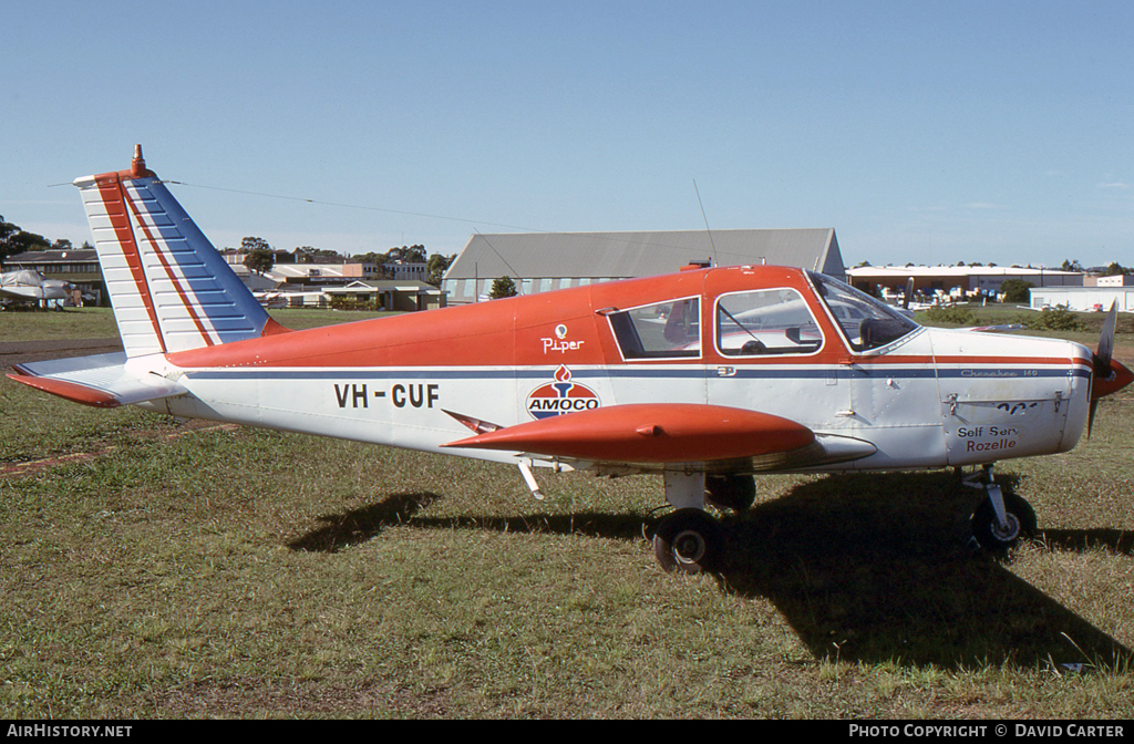 Aircraft Photo of VH-CUF | Piper PA-28-140 Cherokee | Amoco Rozelle | AirHistory.net #6730