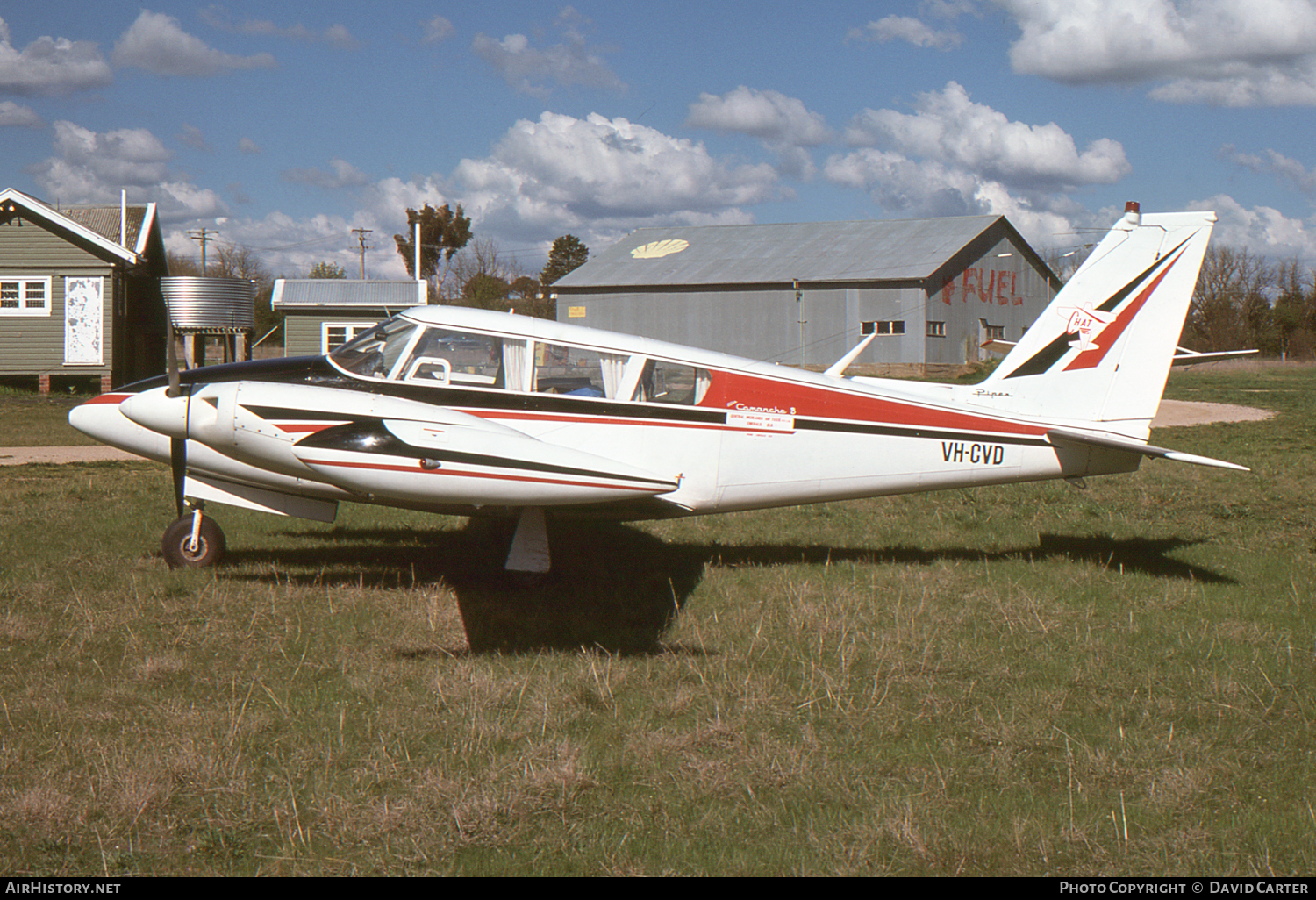 Aircraft Photo of VH-CVD | Piper PA-30-160 Twin Comanche B | Central Highlands Air Taxis | AirHistory.net #6751