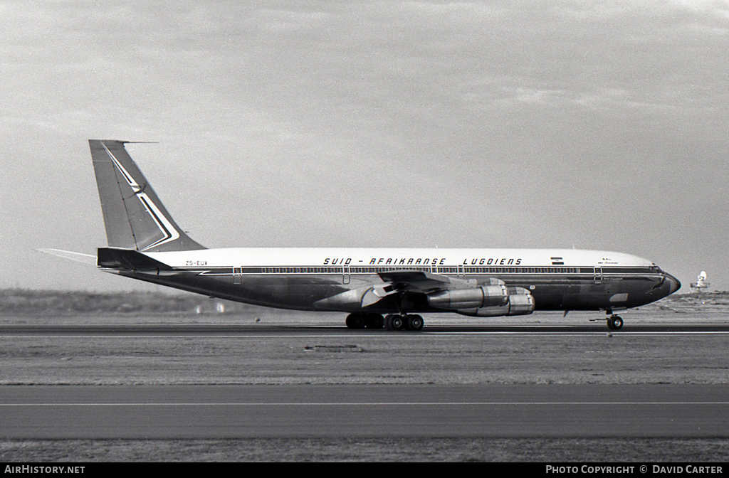 Aircraft Photo of ZS-EUX | Boeing 707-344C | South African Airways / Suid-Afrikaanse Lugdiens | AirHistory.net