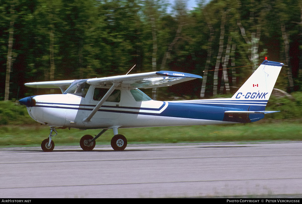 Aircraft Photo of C-GGNK | Cessna 150M | AirHistory.net