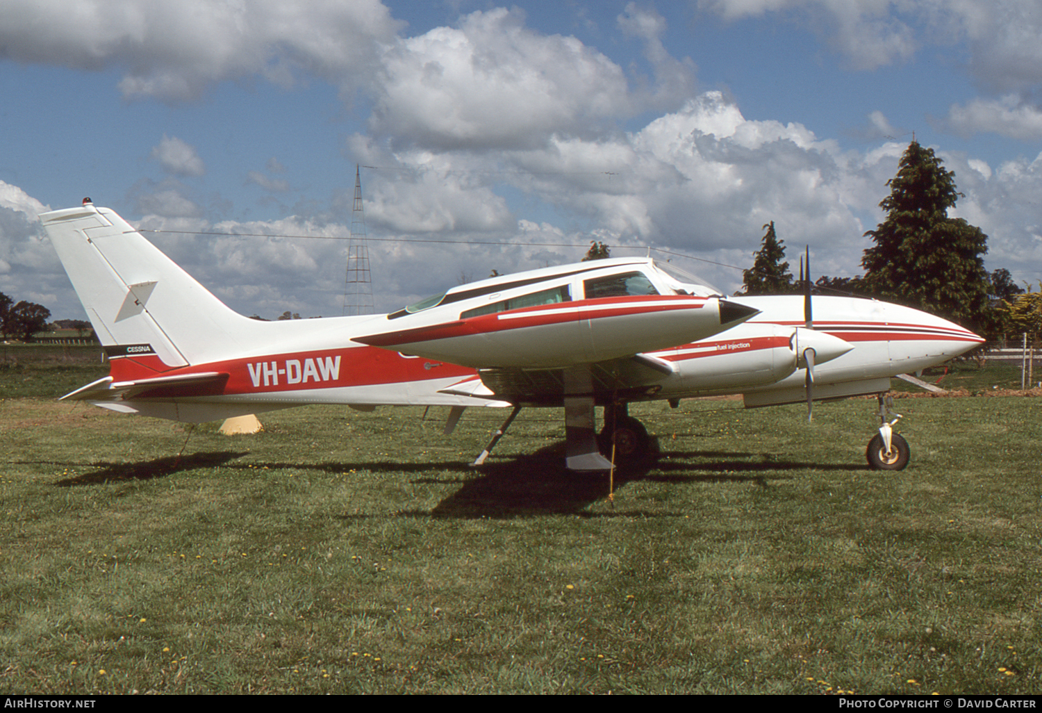 Aircraft Photo of VH-DAW | Cessna 310R | AirHistory.net #6898