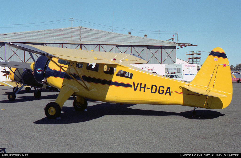 Aircraft Photo of VH-DGA | Howard DGA-15P | AirHistory.net #7026