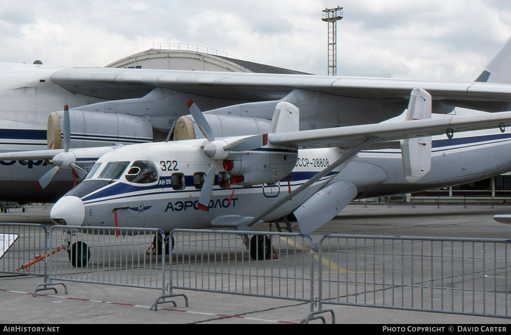 Aircraft Photo of CCCP-28808 | Antonov An-28 | Aeroflot | AirHistory.net #7088