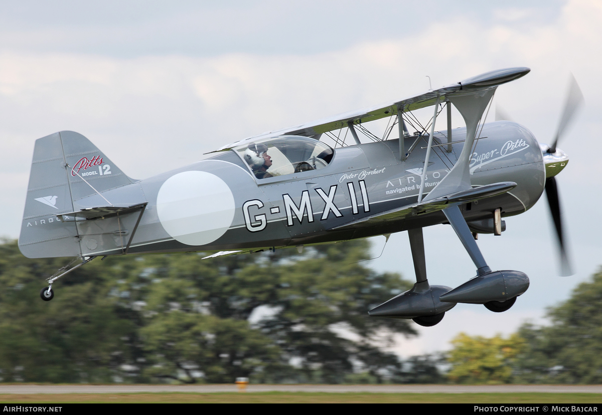 Aircraft Photo of G-MXII | Pitts Model 12 | AirHistory.net #7136