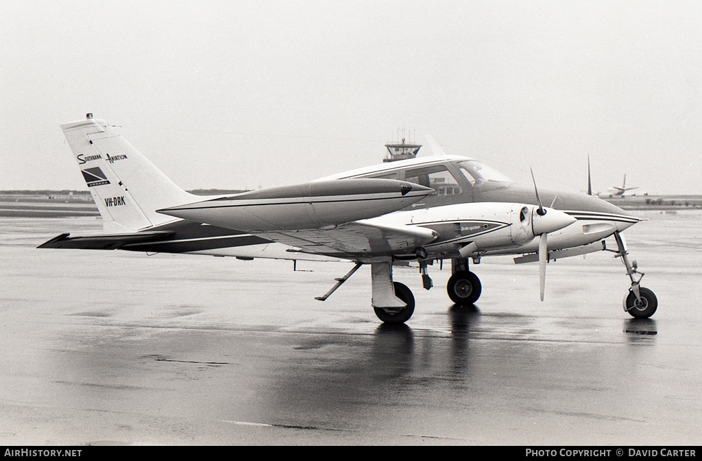 Aircraft Photo of VH-DRK | Cessna 320E Executive Skyknight | Southbank Aviation | AirHistory.net #7278