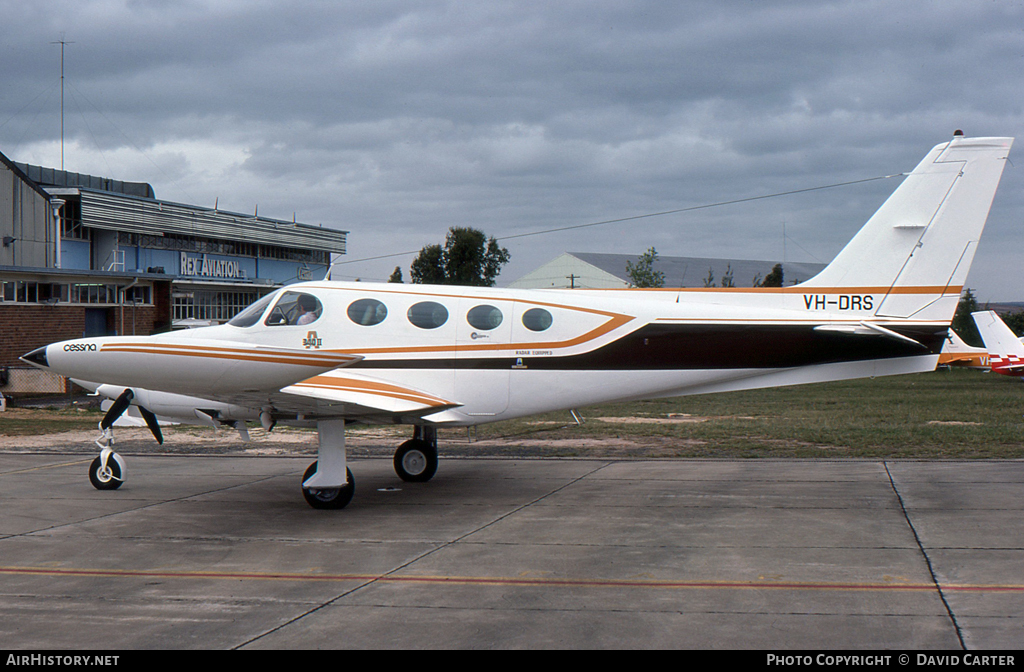 Aircraft Photo of VH-DRS | Cessna 340A II | AirHistory.net