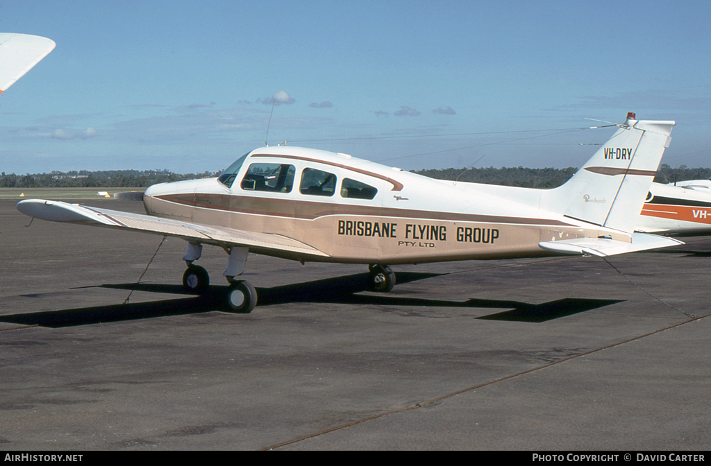 Aircraft Photo of VH-DRY | Beech A23A Musketeer Custom 3 | Brisbane Flying Group | AirHistory.net #7294