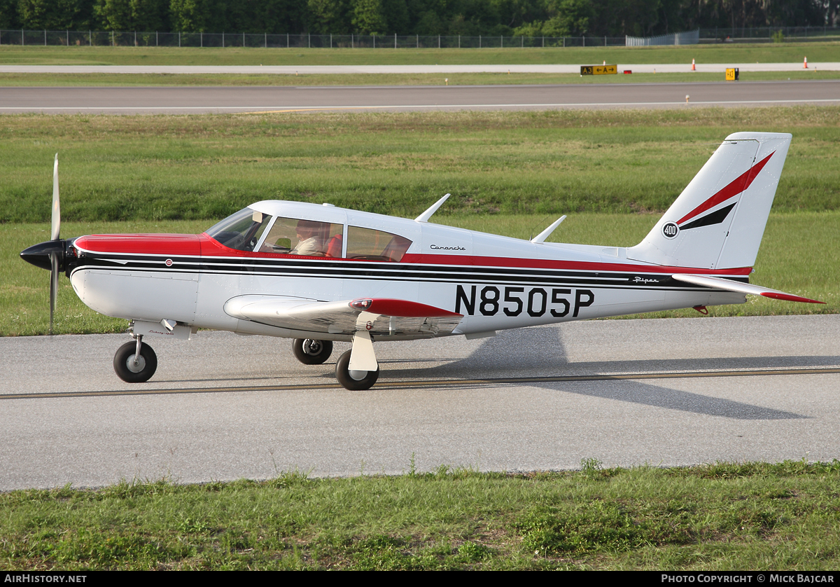 Aircraft Photo of N8505P | Piper PA-24-400 Comanche 400 | AirHistory.net