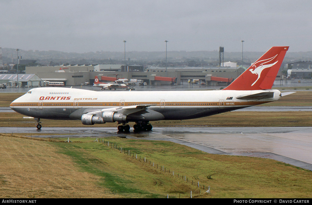 Aircraft Photo of VH-EBC | Boeing 747-238B | Qantas | AirHistory.net #7360